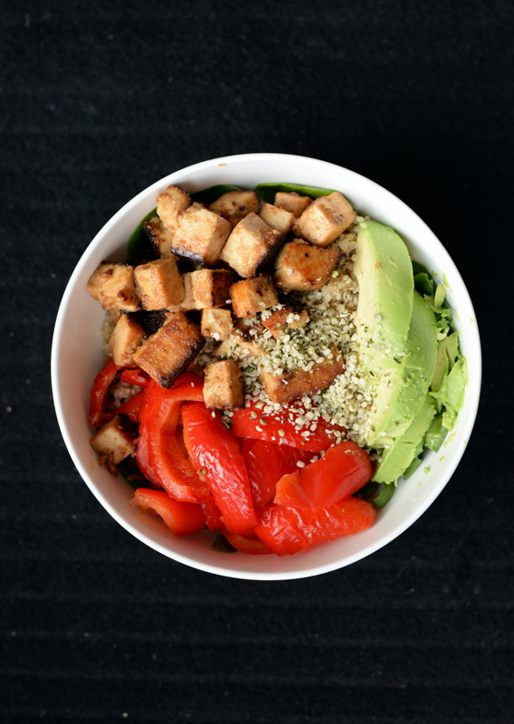 Sweet-and-Sour Marinaded Tofu Veggie Bowl