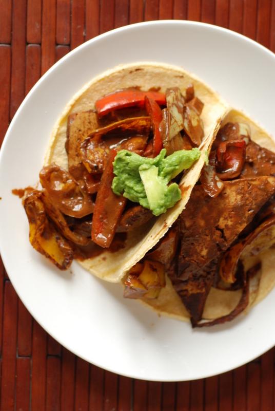 Cocoa Jerk Tofu Tacos + Cookbook Giveaway