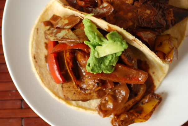 Cocoa Jerk Tofu Tacos + Cookbook Giveaway