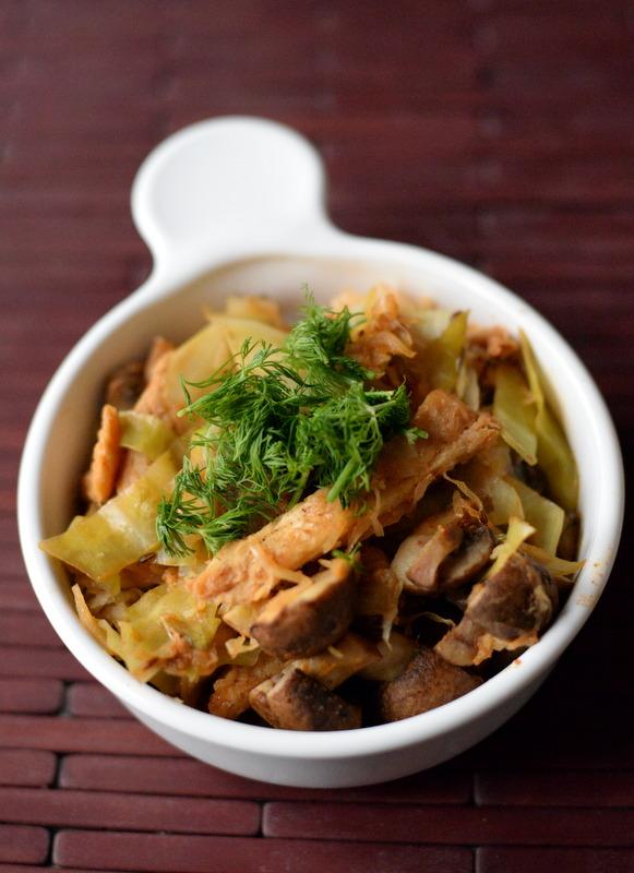 Vegan Bigos (Sauerkraut Stew) + Great Vegan Protein Book GIVEAWAY