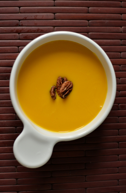 Simple Carrot Ginger Soup