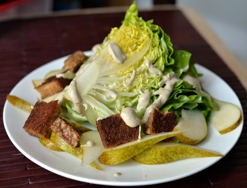 Butter Lettuce Wedge Salad with Creamy Peppercorn Dressing + Cookbook ...