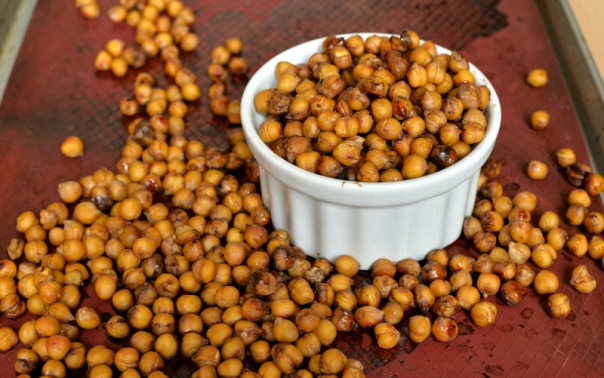 Dreena's Roasted Balsamic Chickpeas