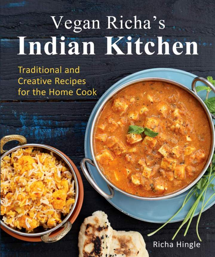 Vegan Richa's Indian Kitchen Giveaway