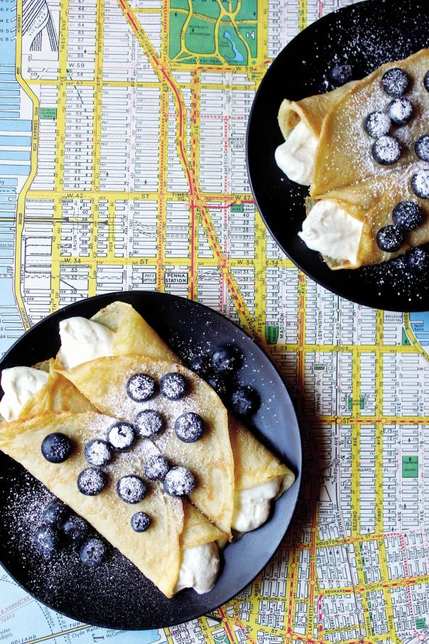 Vegan Blueberry Blintzes + Mastering the Art of Vegan Cooking GIVEAWAY