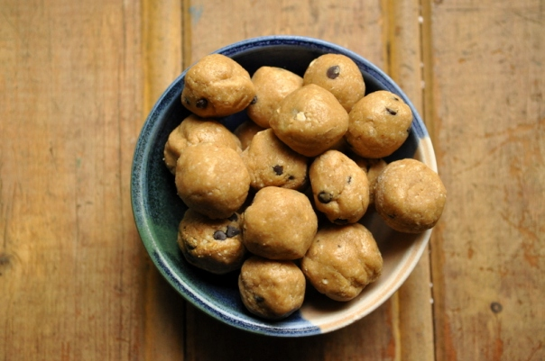 Peanut Butter Cookie Dough Bites