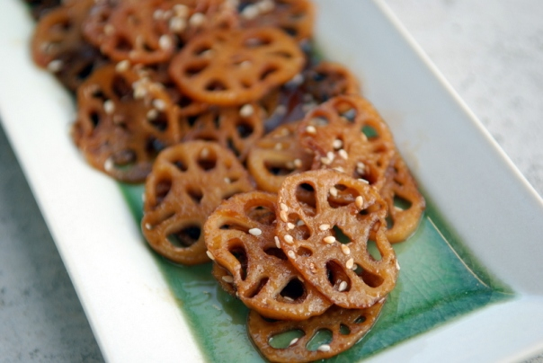 Simmered Lotus Root
