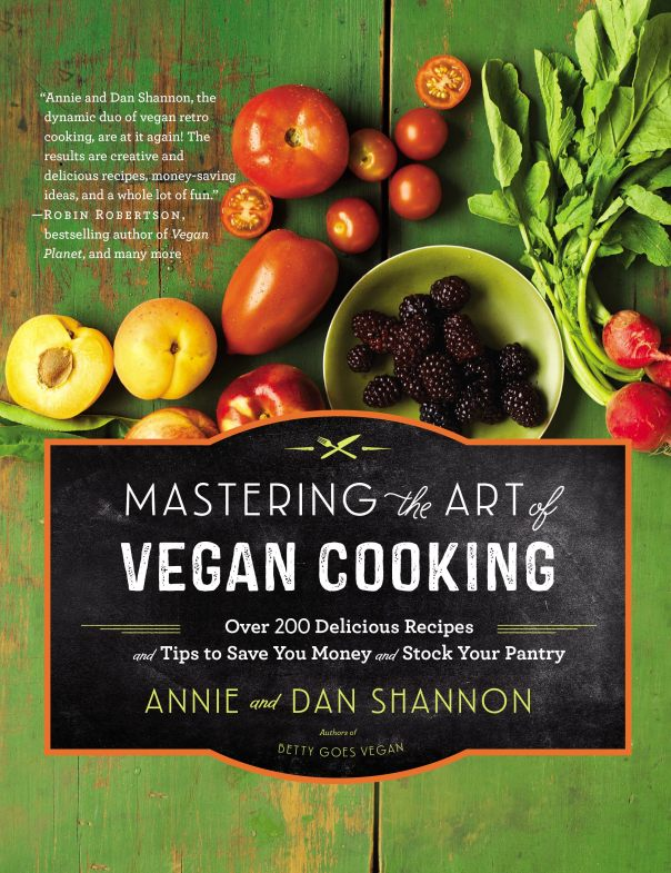 Mastering the Art of Vegan Cooking GIVEAWAY