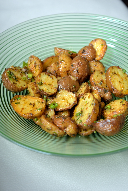 Smoked Paprika Potato Salad