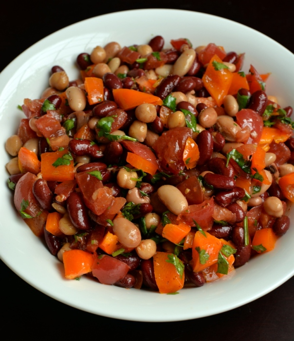 Southwestern Mixed Bean Salad