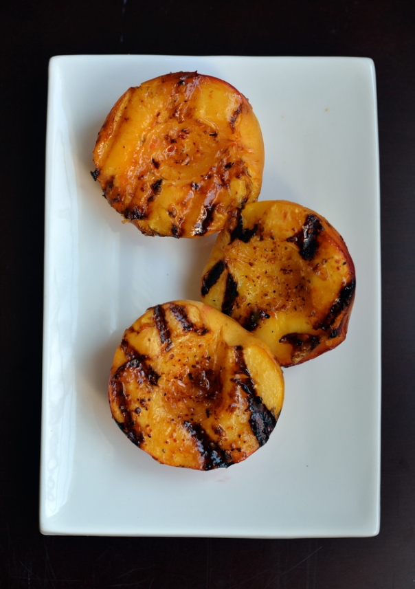 Magical Grilled Peaches