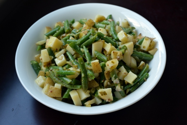 Pickle and Green Bean Potato Salad