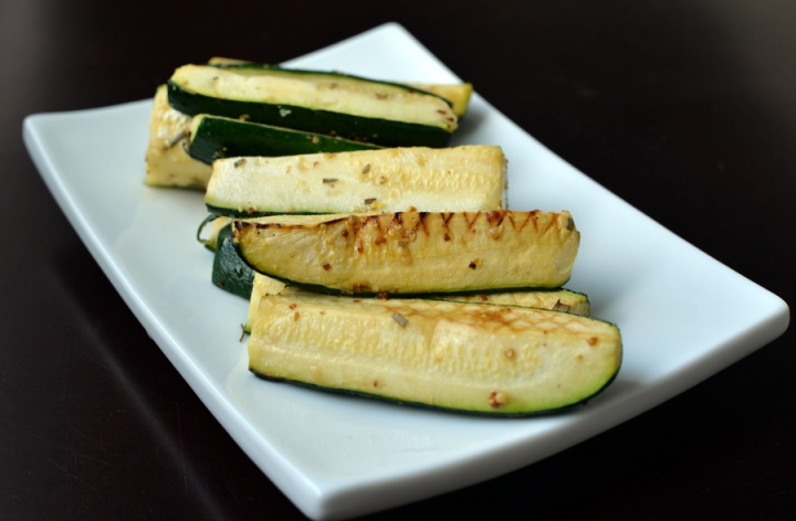 French Farmhouse Grilled Zucchini