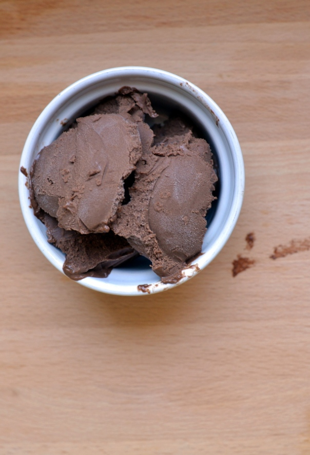 Date-Sweetened Chocolate Chambord Ice Cream (vegan)