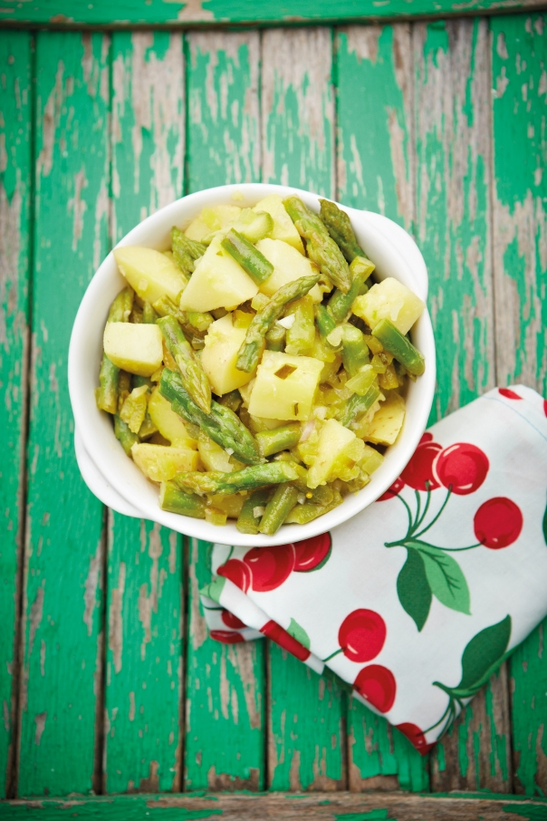 Pickle & Asparagus Potato Salad