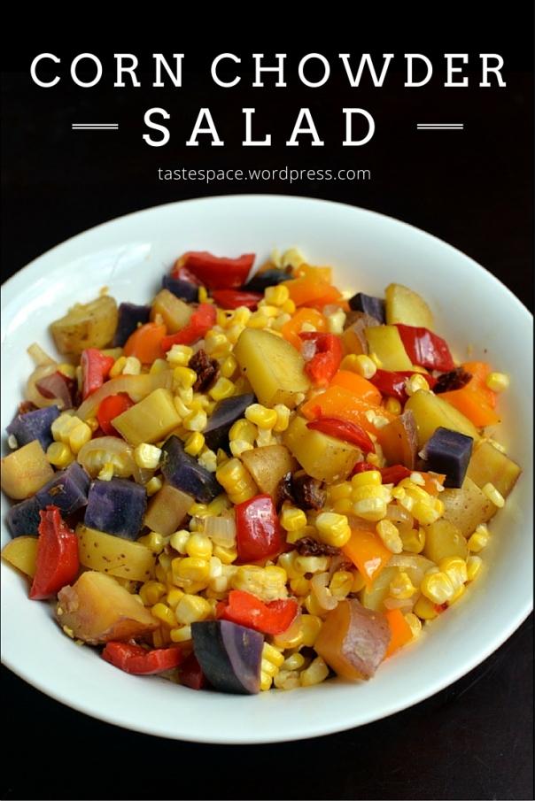 Corn Chowder Salad @ the taste space