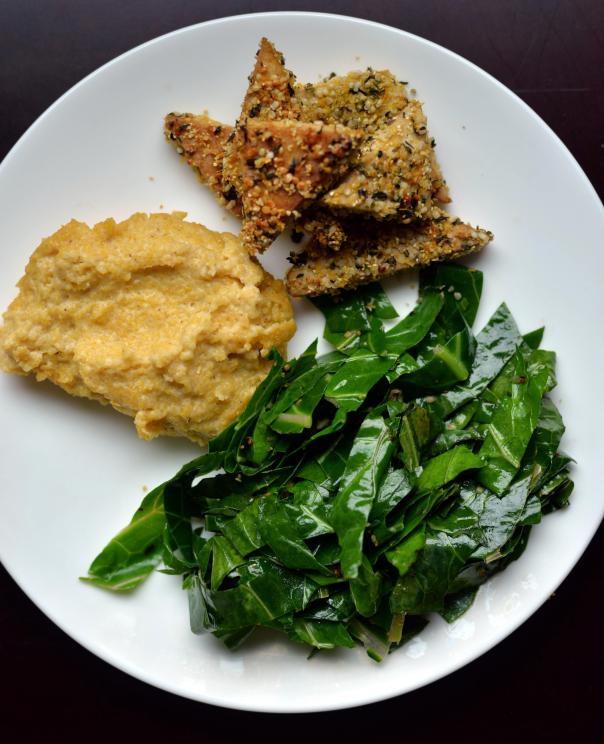 Creamy Cheezy Vegan Polenta + Great Vegan Grains Cookbook GIVEAWAY