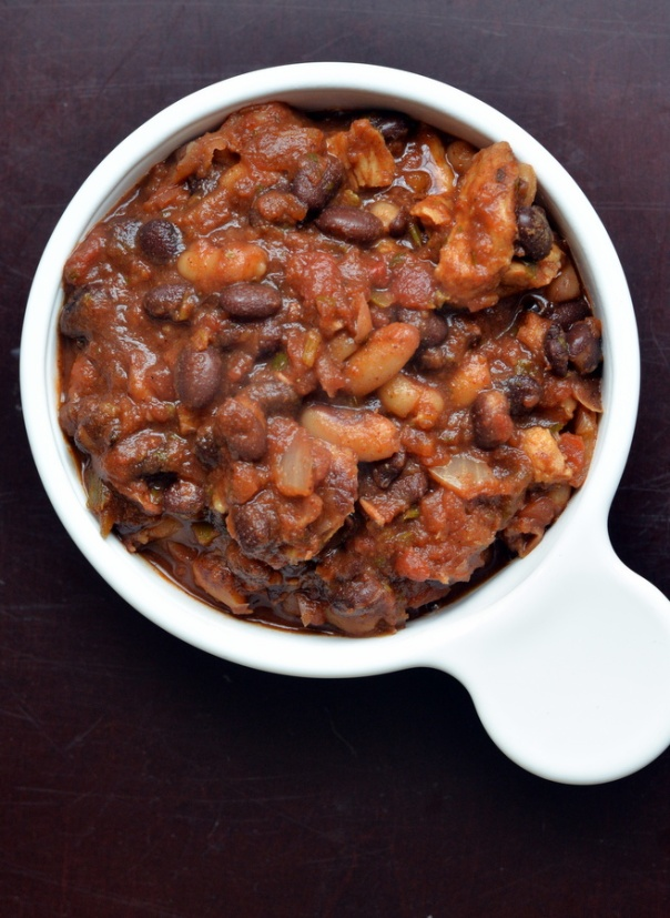 Quick & Easy Pantry Black Bean Chili