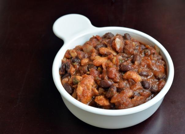 Quick & Easy Pantry Black Bean Chili