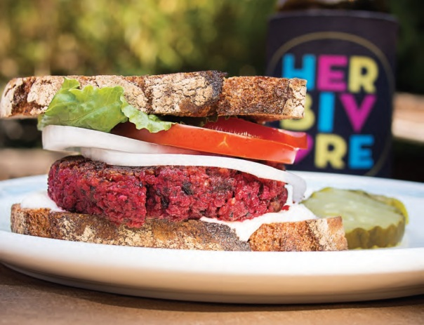 Roasted Beet Burgers + Eat Like You Give a Damn cookbook review + GIVEAWAY