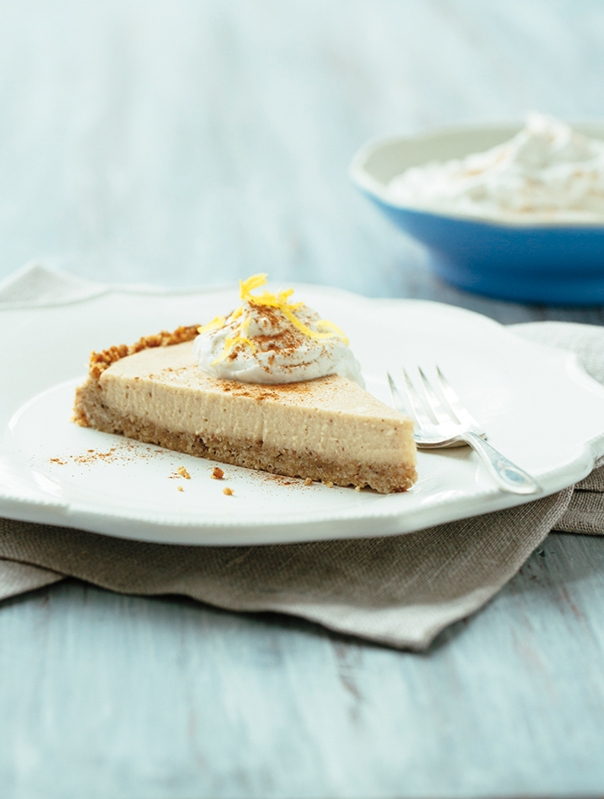 Coconut Sweet Potato Pie + True to Your Roots cookbook GIVEAWAY