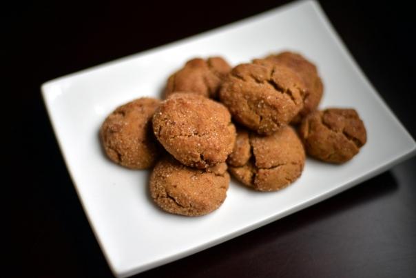 Vegan Cinnamon Snaps