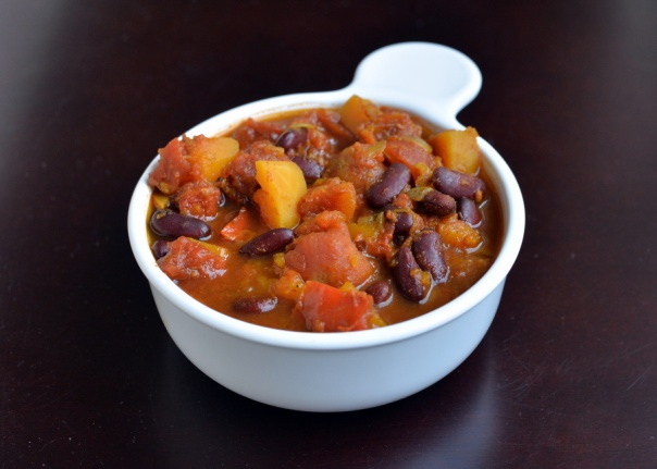 Slow Cooker Butternut Squash Curry-Chili