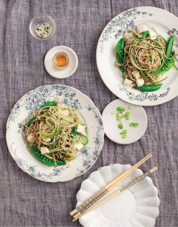 Cold Sesame Cucumber Noodles and Love and Lemons cookbook GIVEAWAY