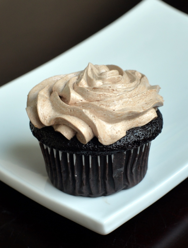 NEWS + Vegan Chocolate Cupcakes with the Best Chocolate Buttercream Frosting