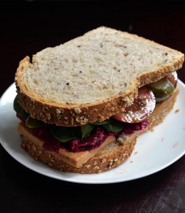 Smoky Tofu Sandwiches