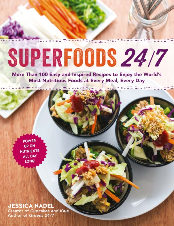 Superfoods 24/7 cookbook GIVEAWAY