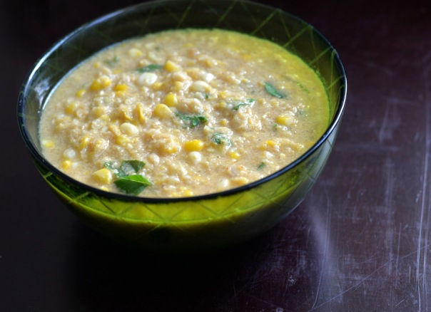 Smoky Corn Chowder + Vegan Bowl Attack GIVEAWAY