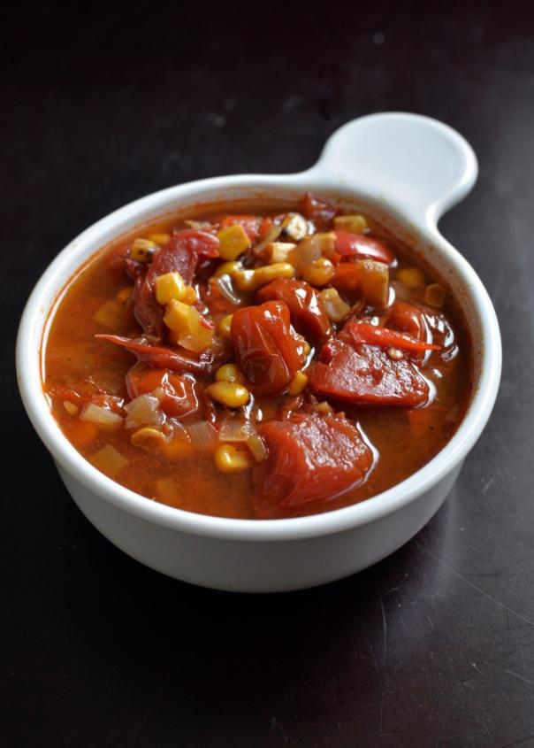 Veggie Enchilada Soup