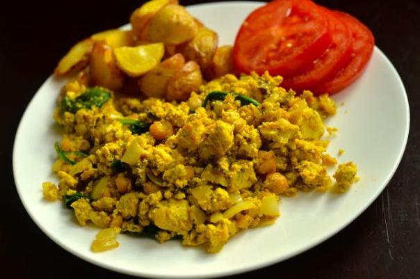 Early Bird Scrambled Tofu + Protein Ninja cookbook GIVEAWAY