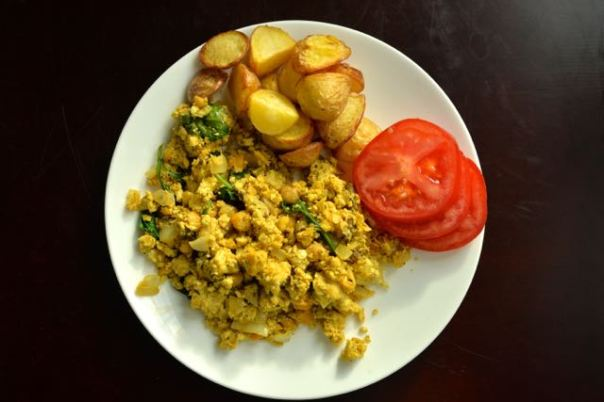 Early Bird Scrambled Tofu + Protein Ninja cookbook GIVEAWAY