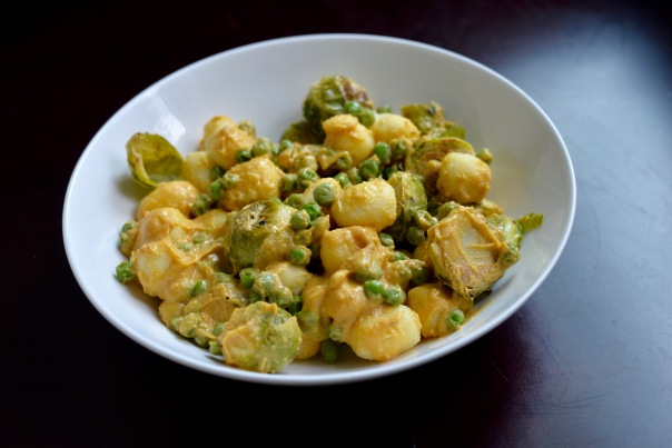 Cheezy Gnocchi & Peas