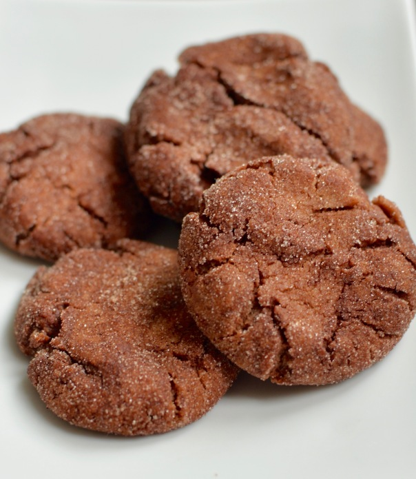 Spicy Chocolate Snickerdoodles