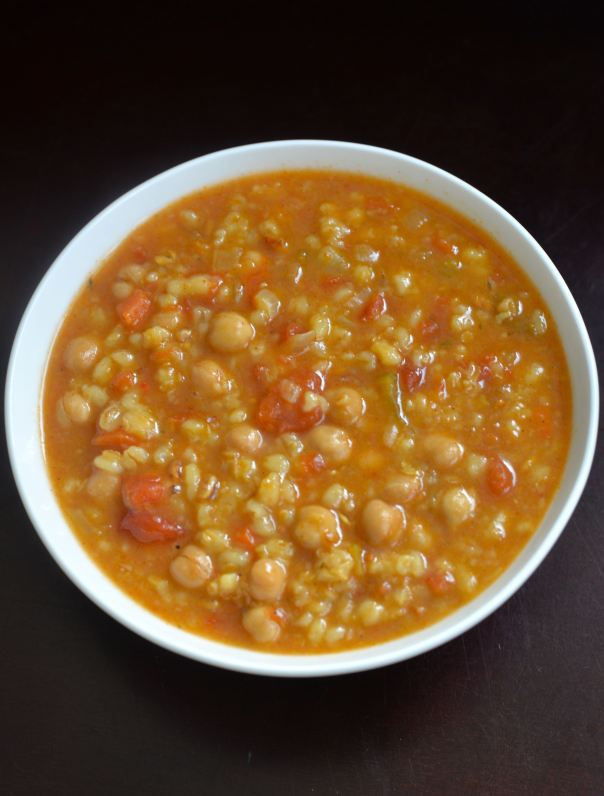 Slow Cooker Vegetable and Barley + Boost Your Breastmilk review