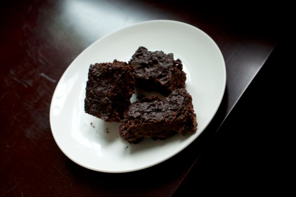 Fudgy Double Chocolate Brownies from Fuss Free Vegan